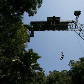 CNS Tower Bungy Jumper