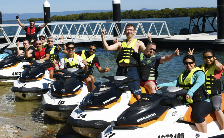 corporate jetski safaris